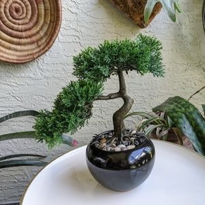 Bonsai Tree Home Decor Bohemian Faux Floral